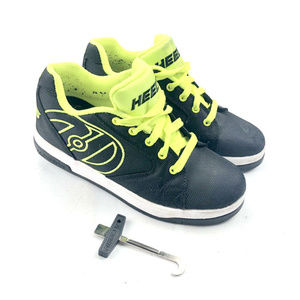 Heelys Propel 2.0 Youth Skate Shoes Black Yellow